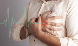 Medicina del cuore di dolore immagine stock libera da diritti