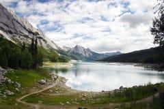 Medicina del lago in diaspro Fotografie Stock