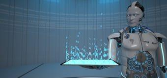 Medicina del robot del futuro illustrazione vettoriale