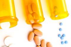 Medicina della pillola Fotografia Stock Libera da Diritti
