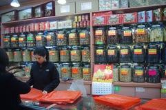 Medicina di cinese tradizionale Fotografia Stock