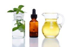 Medicina di erbe fotografia stock