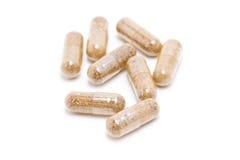 Medicina di erbe della capsula. Immagini Stock Libere da Diritti