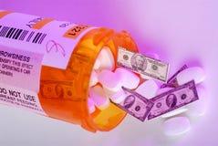 Medicina di prescrizione Fotografia Stock