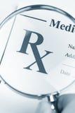 Medicina di prescrizione Fotografie Stock Libere da Diritti
