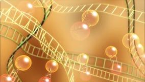 Medicina di ricerca medica del DNA illustrazione vettoriale