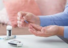 Medicina, diabete, glycemia, fotografia stock