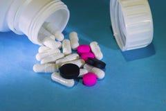 Medicina do sistema digestivo Imagem de Stock