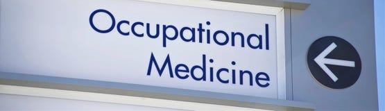 Medicina do trabalho ocupacional e fotografia de stock royalty free