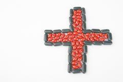 Medicina dos comprimidos Fotografia de Stock