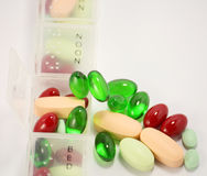 Medicina dos comprimidos Imagens de Stock
