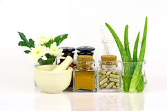 Medicina dos produtos naturais imagem de stock royalty free