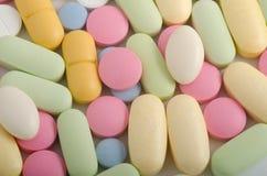 Medicina e farmácia dos comprimidos Foto de Stock