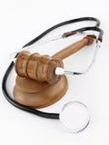 Medicina e legge Immagine Stock