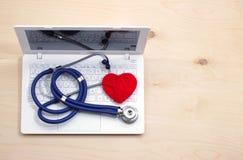 Medicina en línea imagen de archivo