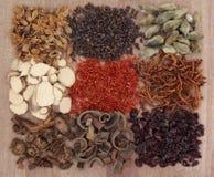 Medicina herbaria china Foto de archivo libre de regalías