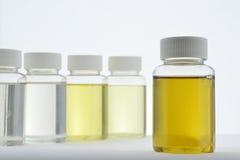 Medicina liquida Fotografie Stock