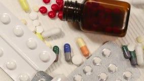 Medicina - medicamentos de venta com receita Fotografia de Stock