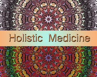 Medicina olistica Immagine Stock Libera da Diritti
