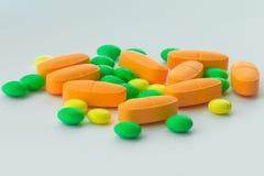 Medicina, píldoras, primer, foto imagen de archivo libre de regalías