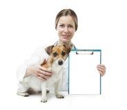 Medicina para el letrero de los animales domésticos fotografía de archivo libre de regalías