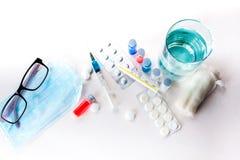 Medicina per il trattamento Immagini Stock Libere da Diritti