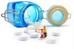 Medicina per un bambino Immagini Stock