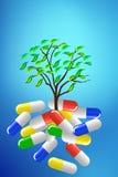 Medicina per vita Fotografie Stock Libere da Diritti