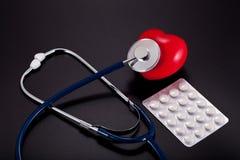 Medicina. Pillole Fotografie Stock