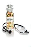 Medicina retro Imagem de Stock