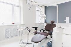 Medicina, stomatology, escritório dental da clínica, equipamento médico para a odontologia foto de stock