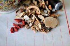 Medicina tradicional china Fotos de archivo