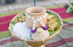 Medicina tradizionale tailandese Fotografie Stock Libere da Diritti