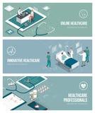Medicina y atención sanitaria stock de ilustración