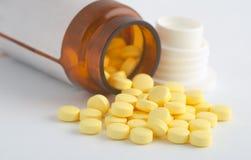 Medicina y farmacia de las píldoras Imagen de archivo