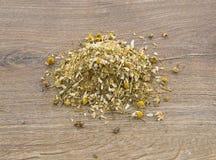 Medicinal chamomile herbs Royalty Free Stock Photo