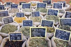 Medicinal herbs Stock Photography