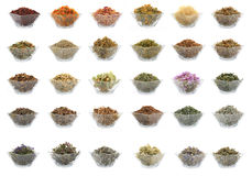 Medicinal herbs Royalty Free Stock Photography