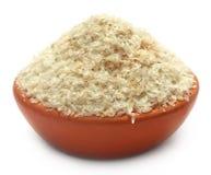 Free Medicinal Isabgol Or Psyllium Husks On A Clay Pot Stock Image - 30691071