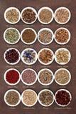 Medicinal and Magical Herbs Stock Photo