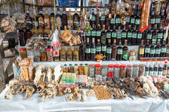 Medicinal Market in Iquitos, Peru Royalty Free Stock Images