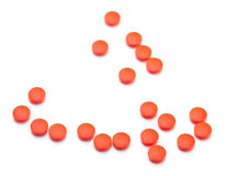 Medicinal pills Royalty Free Stock Images