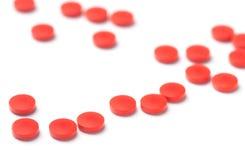 Medicinal pills Stock Photography