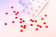 Medicinal pills Stock Images