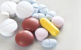 medicinal pills royaltyfri fotografi