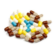 Medicinal pills Royalty Free Stock Photo