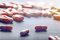 Medicinale farmaceutico Fotografia Stock Libera da Diritti