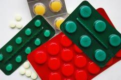 Medicinas foto de archivo
