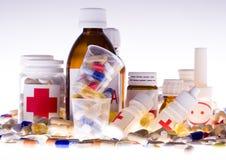 Medicinas Imagen de archivo libre de regalías