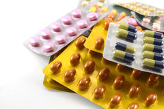 medicinas Fotos de archivo